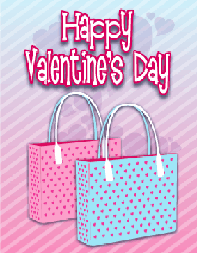 Two Bags Small valentine