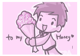 To My Honey valentine