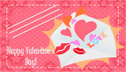 Love Valentines Business Cards (10 cards per page)