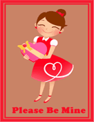 Valentines Card for Woman