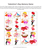 Valentines Memory Game